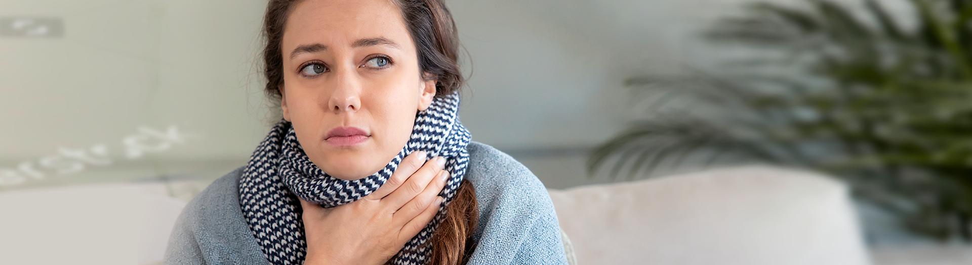 Pierwsza pomoc wprzypadku bólu gardła